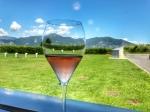 Glass of Franciacorta