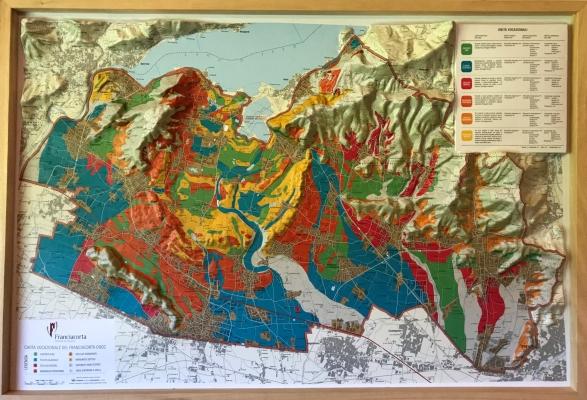 Map of Franciacorta