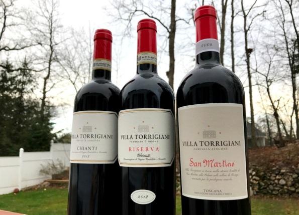 Villa Torrigiani red wines