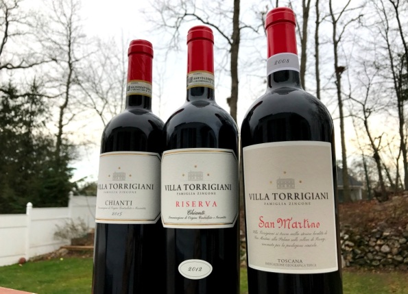 Villa Torrigiani red wines