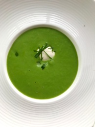 Cream of Asparagus Soup at Kampa Park