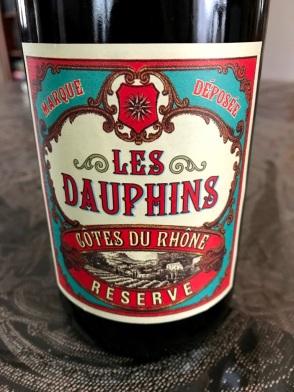 Les Dauphins Cotes du Rhone
