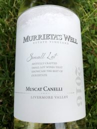 Murrieta's Well Muscat Canelli
