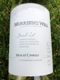 Murrieta's Well Muscat Canelli