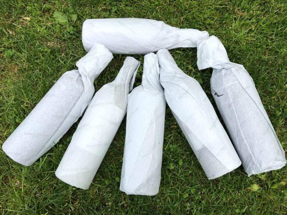 Murrieta's Well wrapped bottles