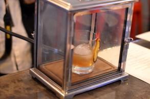 Table smoked cocktail at Killer B