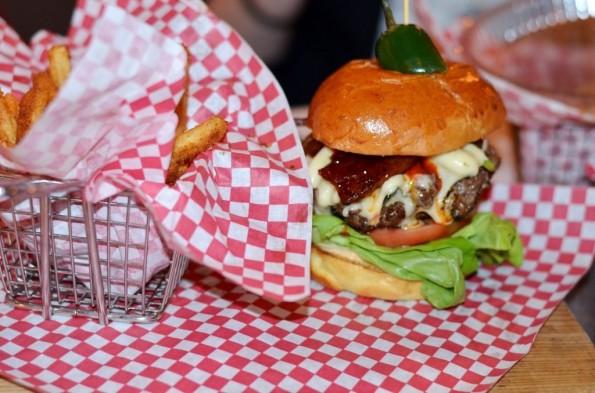 The Stinger Burger at Killer B