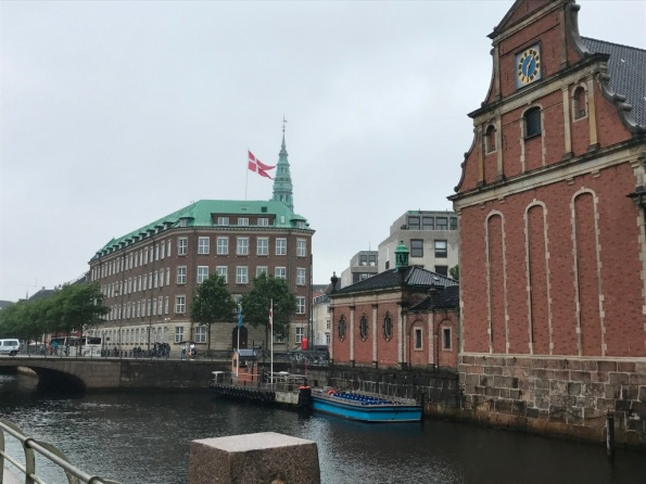 Copenhagen in the rain