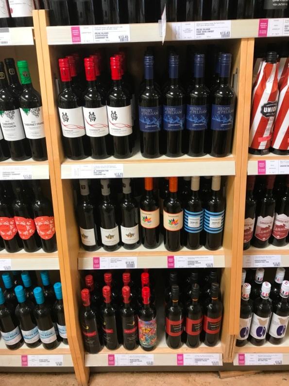 Niagara VQA wines