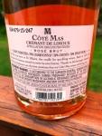 Paul Mas Brut Rose back label