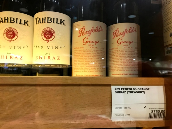Tahbilk and Penfolds Grange