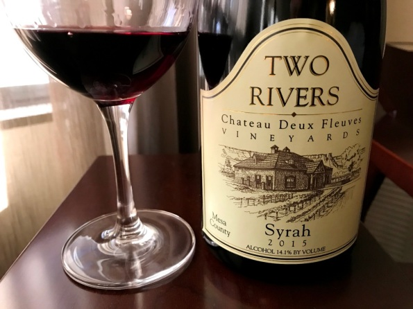 Two Rivers Syrah Colorado
