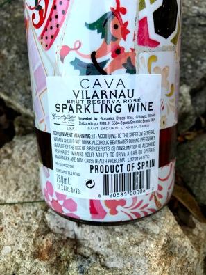 Vilarnau Barcelona Cava back label