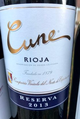 Cune Rioja Reserva