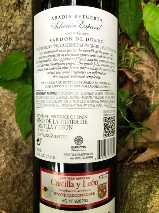Abadia Retuerta Sardon De Duero Selección Especial Vino de la Tierra de Castilla y León