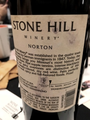 Stone Hill winery Norton Missouri