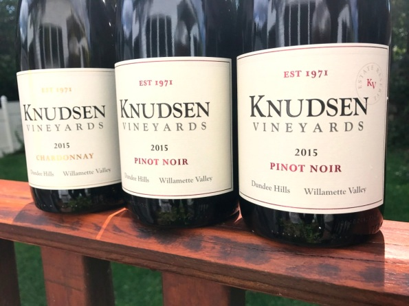 Knudsen Vineyards wines