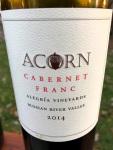 Acorn Cabernet Franc