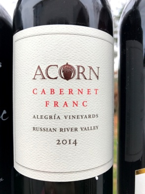 ACORN Vineyards Cabernet Franc