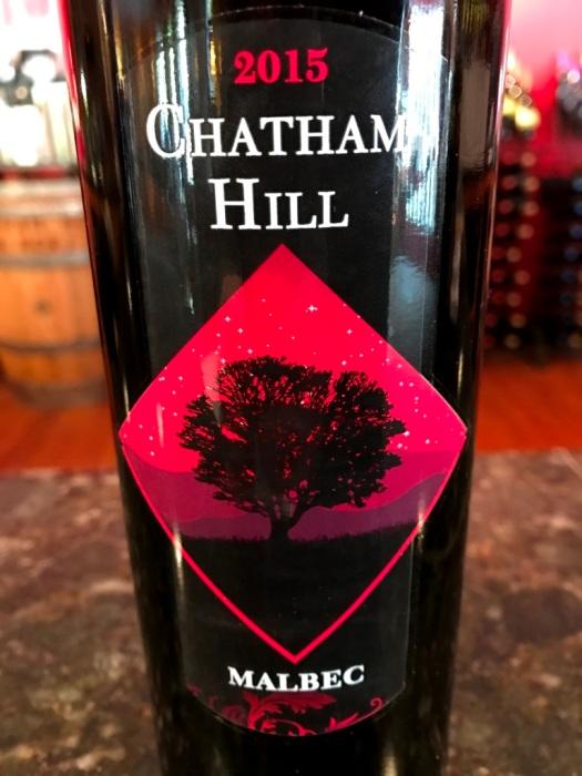 Chatham Hill Winery Malbec