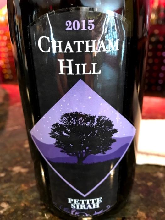 Chatham Hill Winery Petite Sirah