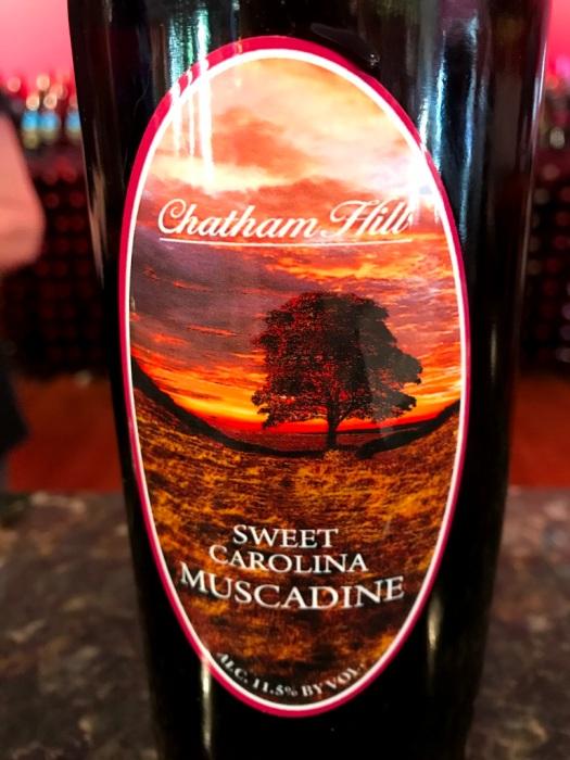 Chatham Hill Winery Sweet Carolina Muscadine