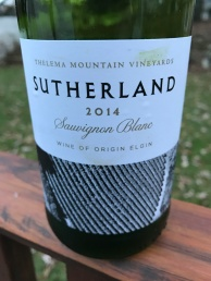Thelema Sutherland Sauvignon Blanc
