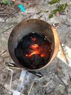 Starting the fire