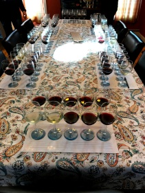 Tables Set for tasting