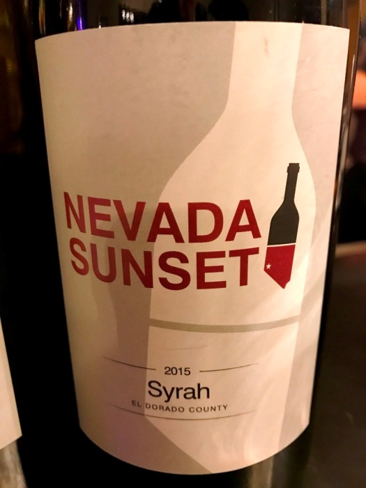 Nevada Sunset Syrah