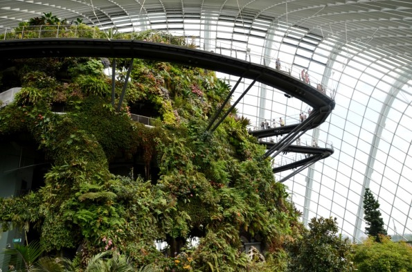 Cloud Forest Gardens by the Bay Singapore