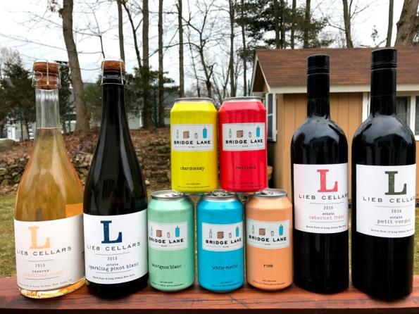 Lieb Cellars tasting Lineup