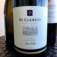 St Clement pinot noir