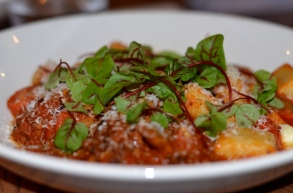 Flinders Lane Braised lamb gnocchi