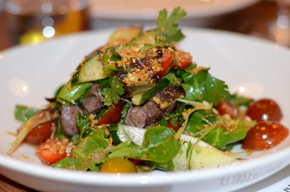Flinders Lane Kangaroo Salad