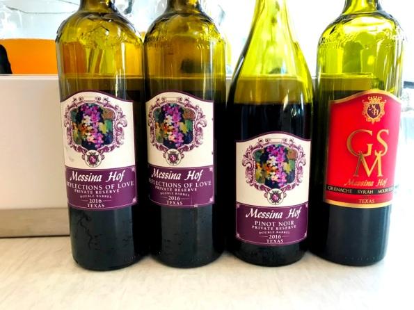Messina Hof Red Wines