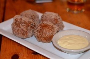 Bobby Qs Apple Cider Doughnuts