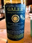 Galer Estate Vidal Blanc back label