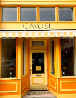 Cayuse tasting Room