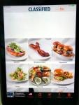 CLASSIFIED menu