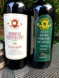 Il Poggione Rosso and EVOO