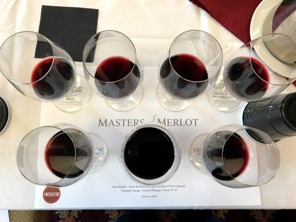 Masters of Merlot tasting WBC18