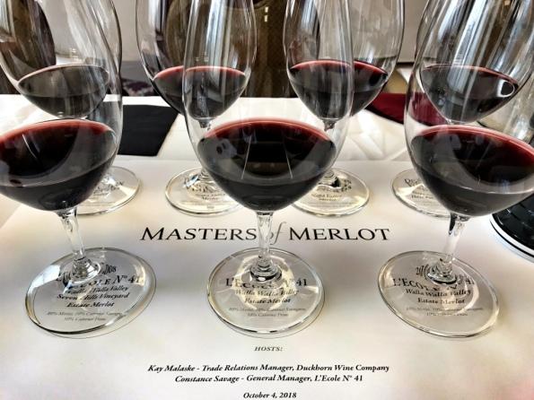 Masters of Merlot tasting
