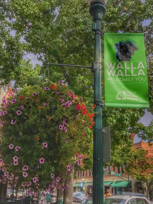 walla walla welcome sign