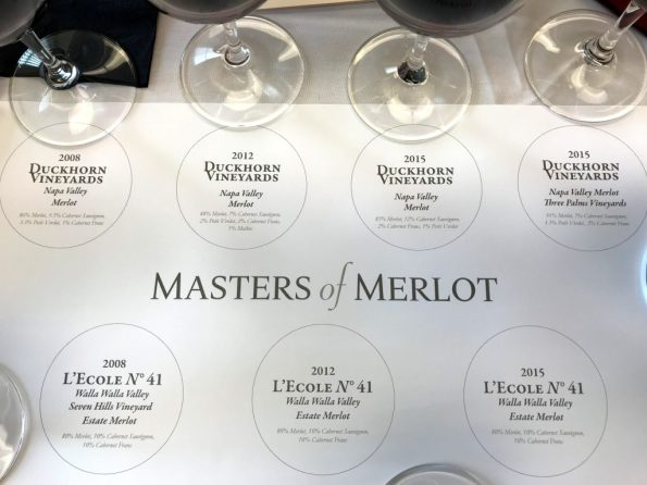 WBC18 Masters of Merlot tasting
