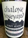 Chalone Pinot Blanc