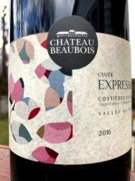 Château Beaubois Cuvée Expression Costières de Nîmes
