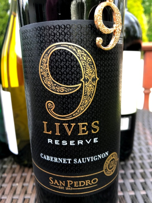 San Pedro 9 Lives Cabernet Sauvignon Reserve