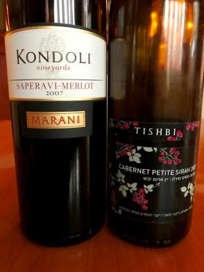 Kondoli and Tishbi Wines