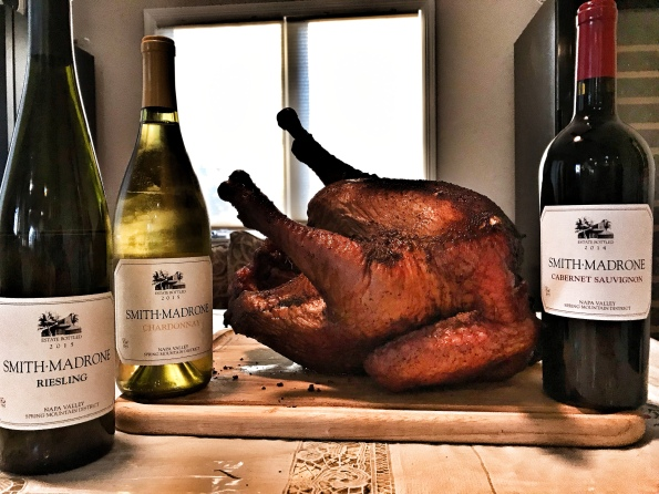 Turkey with Smith-Madrone wines